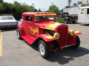 1933 Hudson Essex coupe street rod