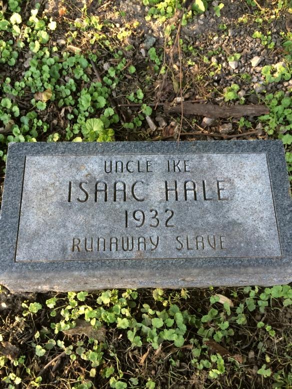 Uncle Ike Isaac Hale 1932 Runaway Slave